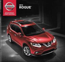 2014 14 Nissan Rogue original sales brochure Mint