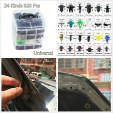 620Pcs 4 Layers Auto Fastener Repair Parts Clip For Car Bumper Fender Door Panel