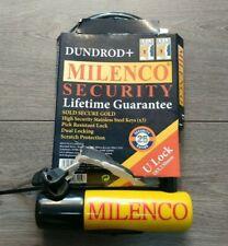 MILENCO DUNDROD ++ MOTORCYCLE U LOCK 18x230mm