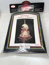 Vintage Merry Mrs Claus Christmas Door Wall Hanging ValCraft NOS Sealed New
