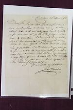 Jedidiah Morse - Autograph letter signed - 1808- Treasurer at Yale-