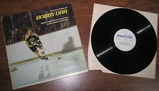 """LP - """"Two Sides Of Bobby Orr""""  - VG+/VG  includes Orr's instructional commentary"""