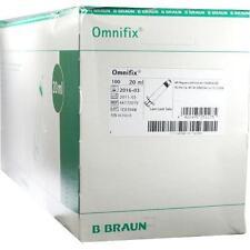 OMNIFIX Luer Lock solo Spritzen 100X20ml PZN 570039