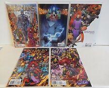 Marvel Comics Inhumans Prime Royals #1-2 lot Unread!! Variant Covers Black Bolt