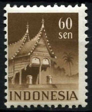 Indonesia 1949-50 SG#564B 60s Chocolate P11.5 MH #D50964