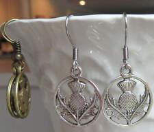 Scottish Thistle Earrings Handmade Outlander Inspired Earrings Jewelry Scotland