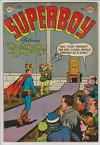 Superboy #32 F- ONLY 10 GRADED COPIES BY CGC  SOLID COPY ! SCARCE, HARD TO FIND