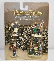 Vintage Windham Heights Cobblestone Corners Figurines Accessories Village xmas