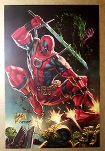 Deadpool Marvel Comics Poster by Rob Liefeld