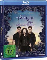 Die Twilight Saga - Alle 5 Filme auf 6 Discs [Blu-ray](NEU/OVP) Kristen Stewart