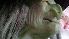 More details for halloween prop gemmy wanda the witch animated lifesize (rare)