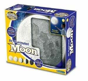Brainstorm Remote-Controlled Illuminated Moon