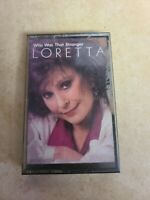LORETTA Who Was That Stranger MCAC42174 Cassette Tape