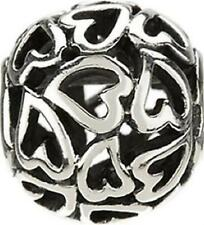 Authentic Chamilia Element Captured Hearts Charm Beats Sterling 925 Silber GA136