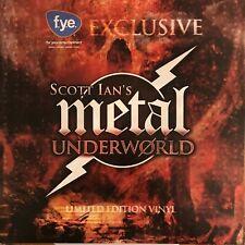 SCOTT IAN'S METAL UNDERWORLD album Anthrax, Atilla,Toxic Holocaust LP 2013 Vinyl