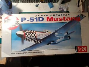 North American P51D Mustang 1/24 Airfix