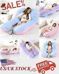 Pregnancy Pillow Case Side Sleep Pregnant Women Bedding and Cushion Body U-Shape