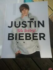 Justin Bieber OH BABY! Softbound Book 2010 Biography Musician Triumph 96 pages