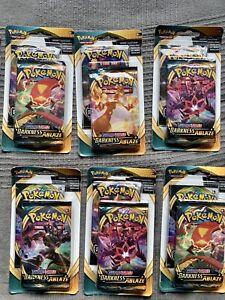 Pokémon Sword & Shield: Darkness Ablaze Booster -  *2 Pack* Sealed Blister
