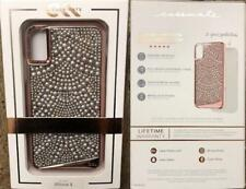New Original CASE-MATE Brilliance Tough Lace Rose Gold Case for iPhone X 10
