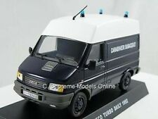 IVECO TURBO DAILY 1992 POLICE CARABINIERI VAN MODEL 1/43RD SCALE MINT PACKED ^*^