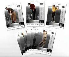 TIGER WOODS ROOKIE RC 2001 Upper Deck UD NATIONAL CONVENTION PROMO SET (10)