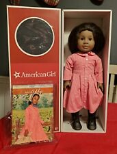 """American Girl 18"""" Addy Walker 1864 in Meet Dress w/ Book and Box (Retired)"""