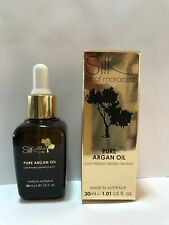 Silk of Morocco Pure Argan Oil Cold Pressed Certified Organic Argan Oil NEW 30ml