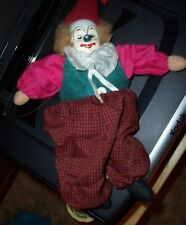 PORCELAIN CLOWN DOLL BY ARTMARK CHICAGO- USED