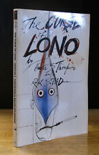 THE CURSE OF LONO (1983) HUNTER S. THOMPSON SIGNED, RALPH STEADMAN, 1ST EDITION