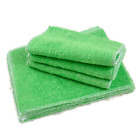 Home Kitchen Double Thickness Bamboo Fiber Dish Wash Cloth Towel Rags wipe new