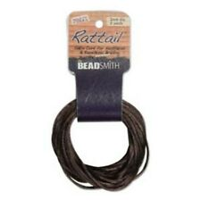 6 Yards 1MM RATTAIL MED BROWN (Free Shipping)