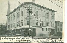 LEOMINSTER,MASSACHUSETTS-MCGRATH'S BLOCK-B/W-1905-(MASS-L)