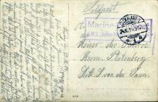 420895) Schiffspost DR R2 Marine-Feldpost SMS Kaiser Wilhelm der Große 1914