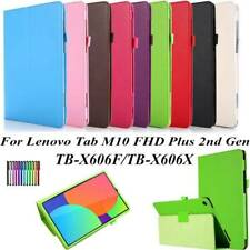 PU Leather Case Cover For 10.3 in Lenovo Tab M10 FHD Plus TB-X606F/TB-X606X