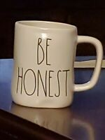 Rae Dunn by Magenta BE HONEST Ceramic LL Coffee Mug