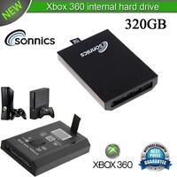 SONNICS 320GB INTERNAL HARD DRIVE FOR MICROSOFT XBOX 360 SLIM BRAND NEW