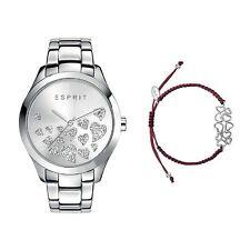 Esprit Damen Uhr Armbanduhr Esmee Edelstahl Silber ES107282004