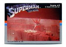 Drakes Cakes 1978 Superman The Movie Scene Card #4