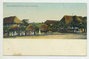 AK Kolonien Deutsch-Ostafrika Urambo Missionsstation