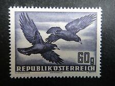 Austria Air Post Stamp 1950 - 1953 MNH Airmail Birds Rooks