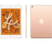"""New Apple iPad Mini 5 Gold 256GB 7.9"""" Wifi 4G LTE Cellular Unlocked 5th Gen"""