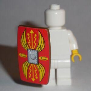 ACCESSORY Shield Minifigure Compatible Roman Red w/wing pattern NEW