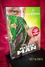 WWE: Rey Mysterio - The Life of a Masked Man (DVD, 2011, 3-Disc Set)