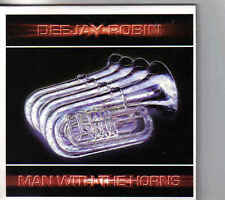 Dee Jay Robin-Man With The Horns cd single eurodance holland