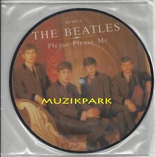 """THE BEATLES- """" PLEASE PLEASE ME """" 20th Anniversary UK  PIC DISC, STILL SEALED"""