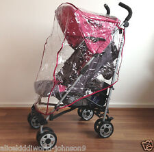 NEW Hauck Plum Violet dark Pink Rain cover Raincover for buggy pushchair pram
