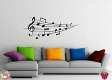 Wall Stickers Vinyl Decal Classical Music Notes Home Decor z1164