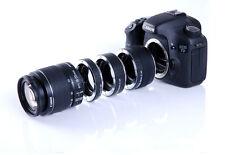 Kooka Macro Extension Tube Set Ring Adapters KK-C68 12mm 20mm 36mm for Canon EOS