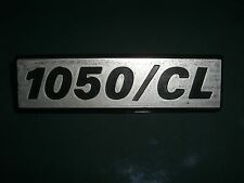 Emblem / Badge Fiat 127 1050/CL Länge ca. 12 cm, 2 Befestigungsstifte